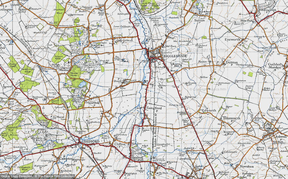 Old Map of Holme, 1946 in 1946
