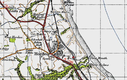 Old map of Yoden Village in 1947