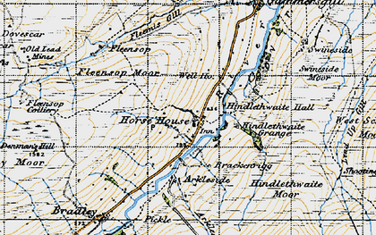 Old map of Arundel Grange in 1947