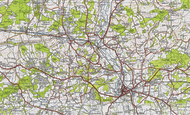Map of Kents Oak, 1945