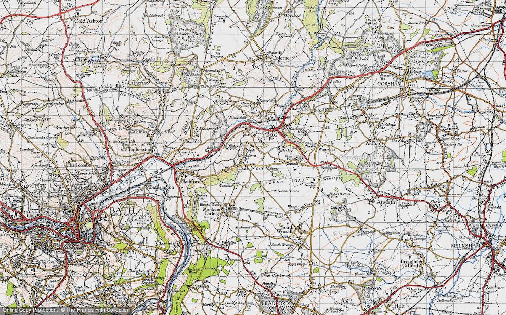 Old Map of Kingsdown, 1946 in 1946