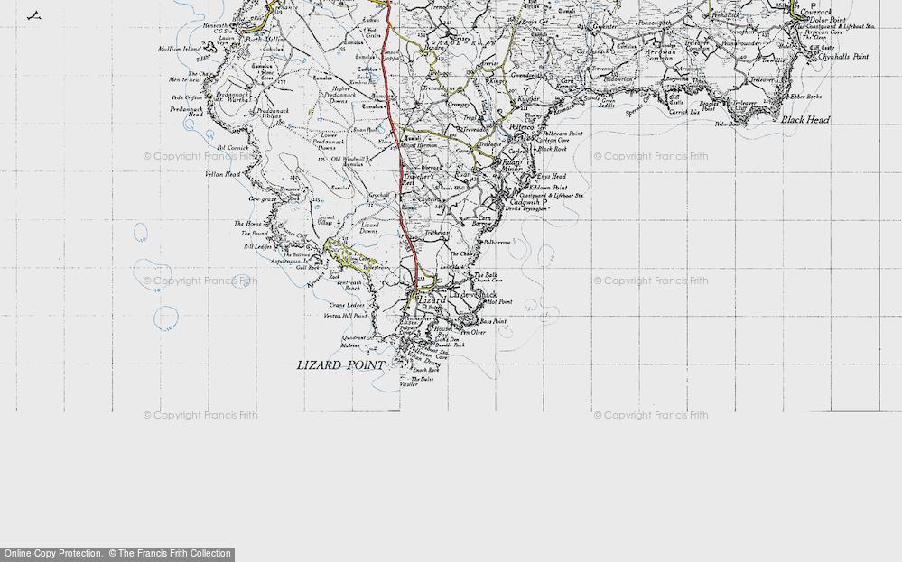 Old Map of Landewednack, 1946 in 1946