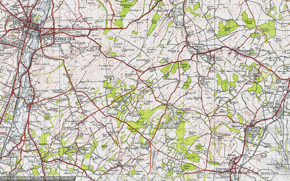 Lane End, 1945