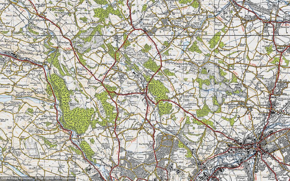 Lane End, 1947