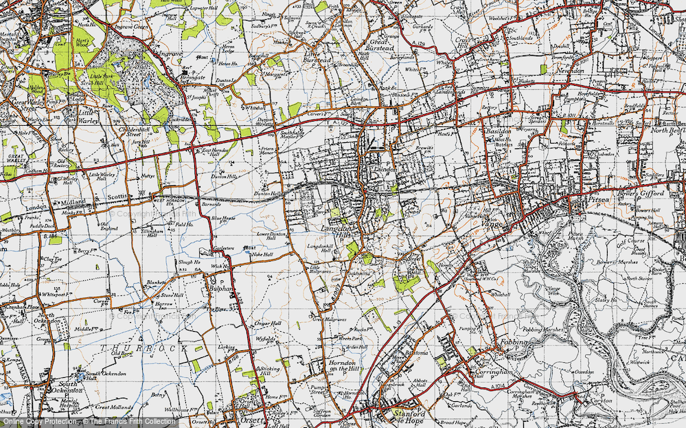 Langdon Hills, 1946