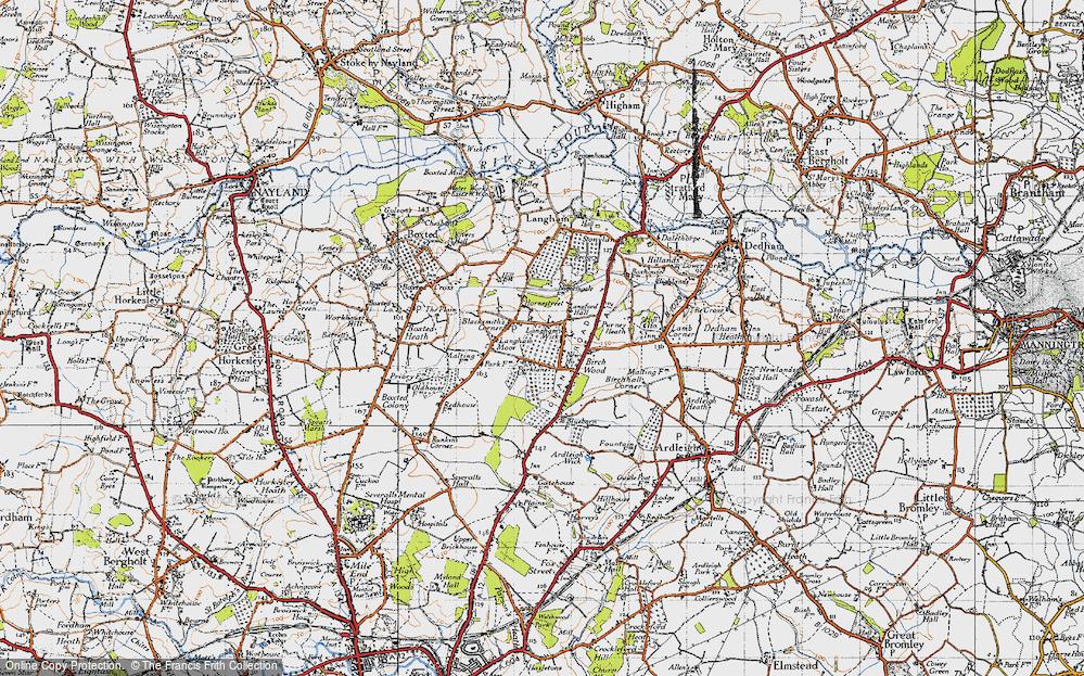 Langham, 1945