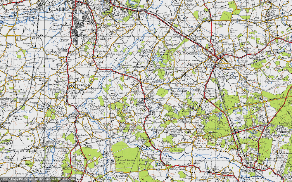 Old Map of Langley Common, 1940 in 1940