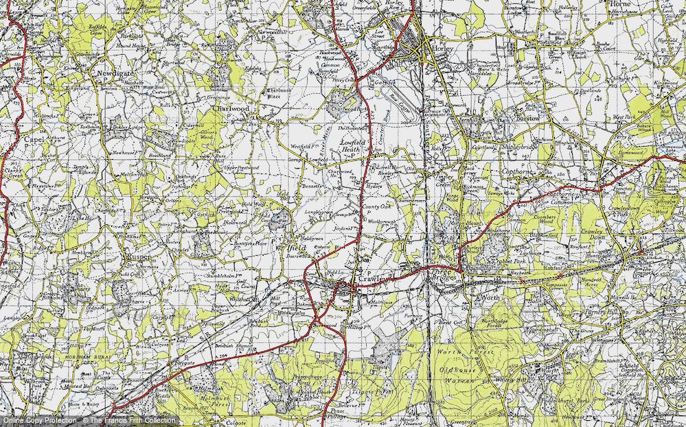 Langley Green, 1940