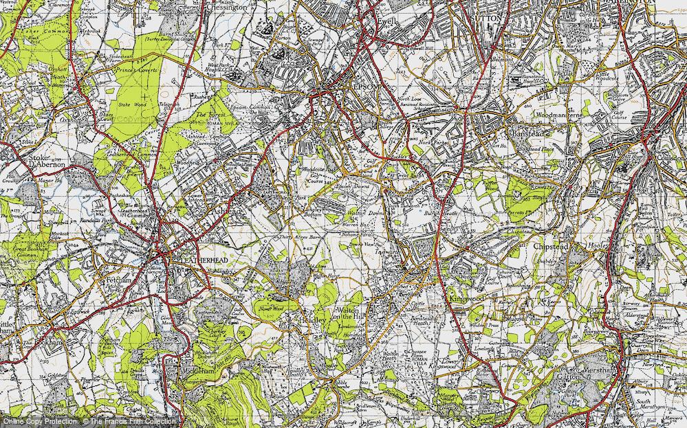 Langley Vale, 1945
