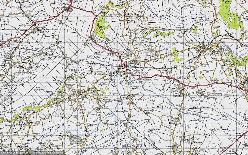 Langport, 1945