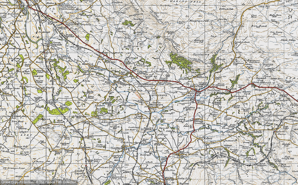 Old Map of Langrigg, 1947 in 1947
