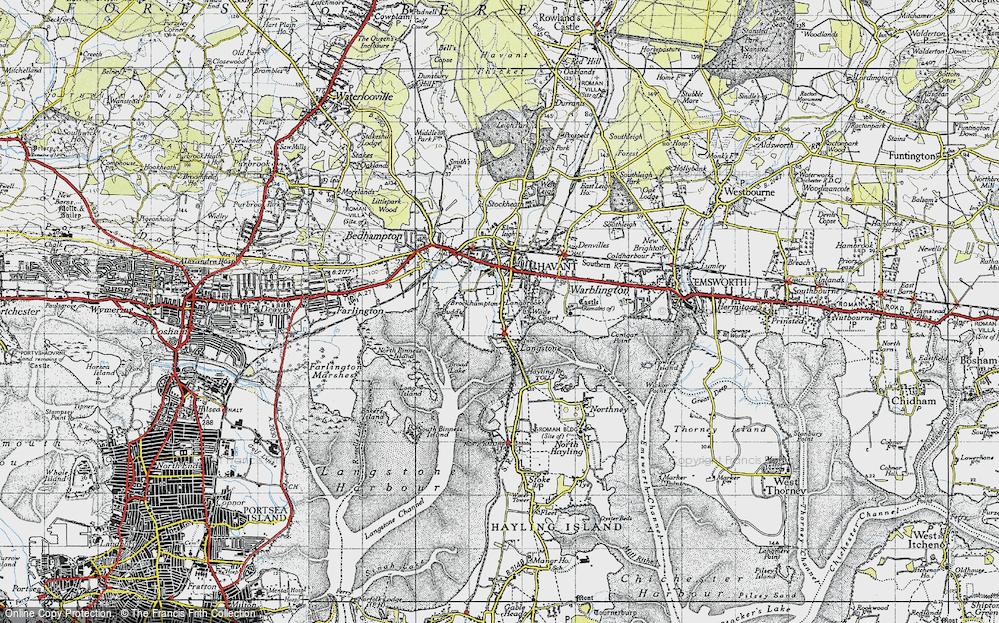 Langstone, 1945