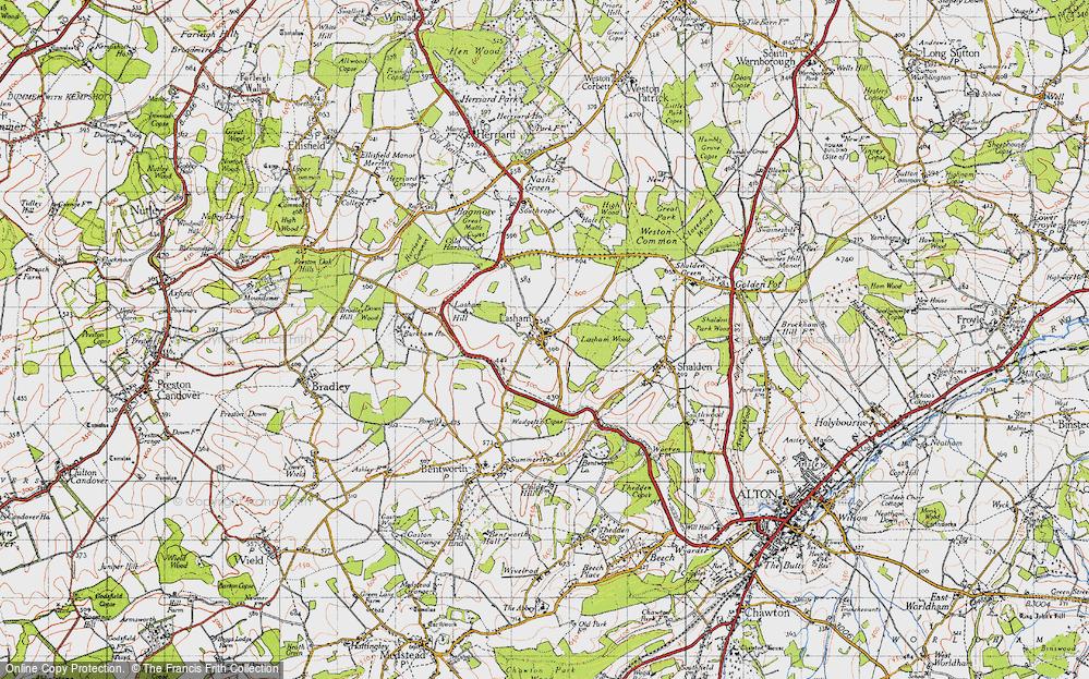 Lasham, 1945