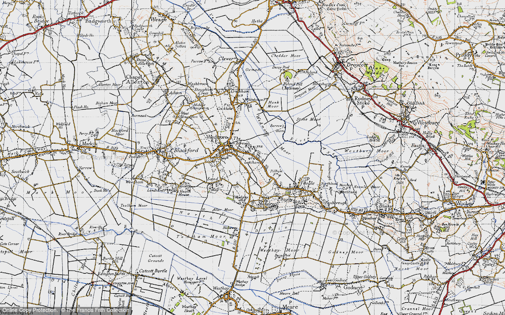 Old Map of Latcham, 1946 in 1946