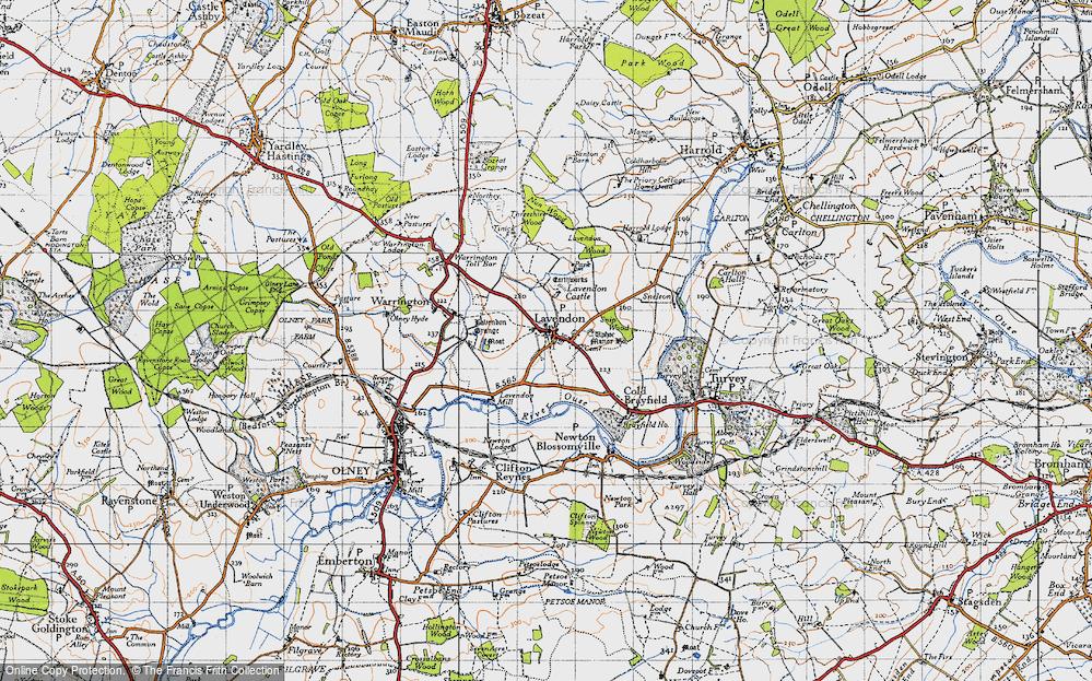 Lavendon, 1946