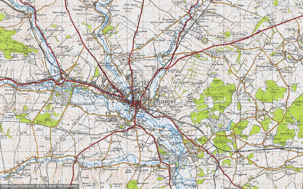 Laverstock, 1940