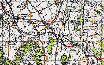 Old map of Aston Mills in 1947