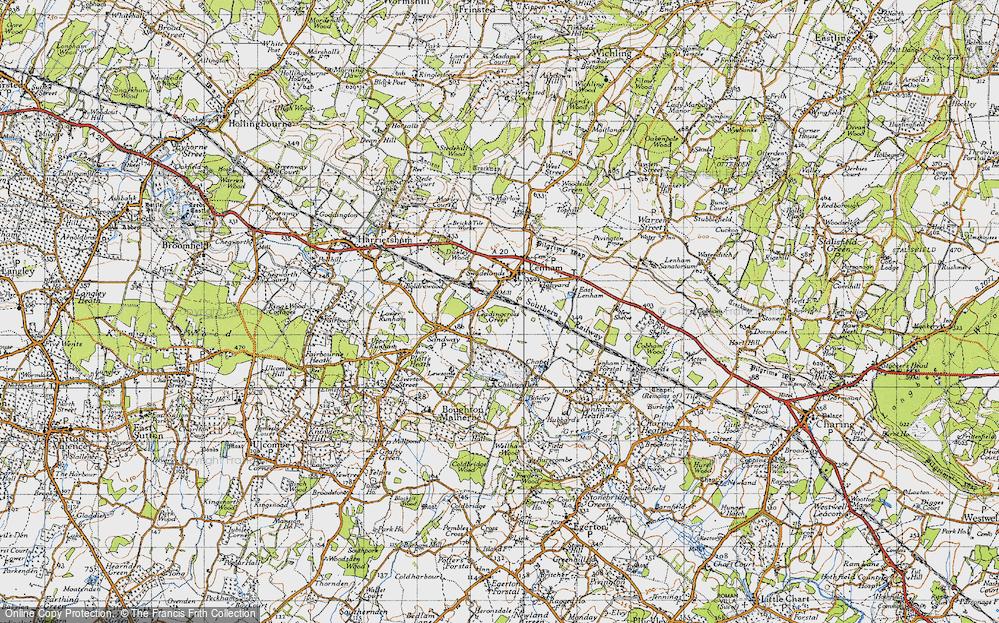 Leadingcross Green, 1940