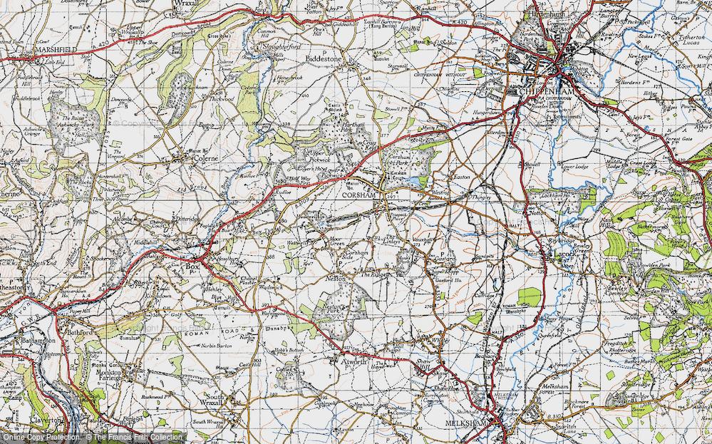 Leafield, 1946