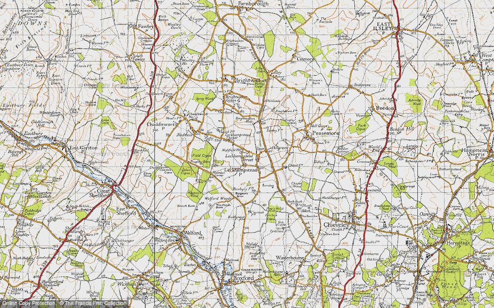 Leckhampstead, 1947
