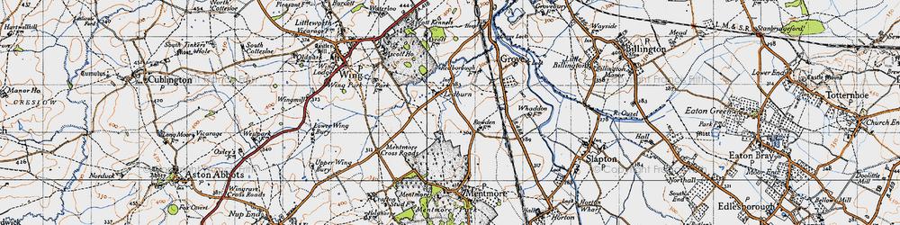 Old map of Ledburn in 1946