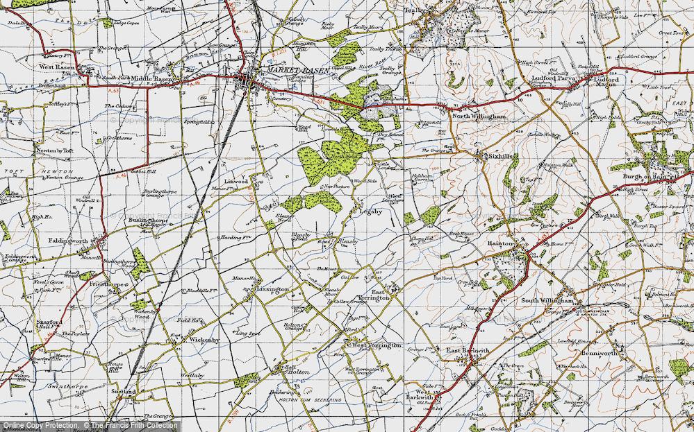 Legsby, 1946