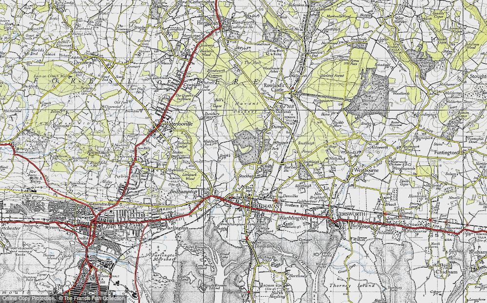 Leigh Park, 1945