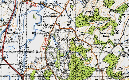 Old map of White Ho, The in 1947