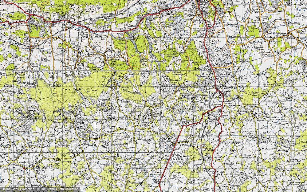 Leith Hill, 1940
