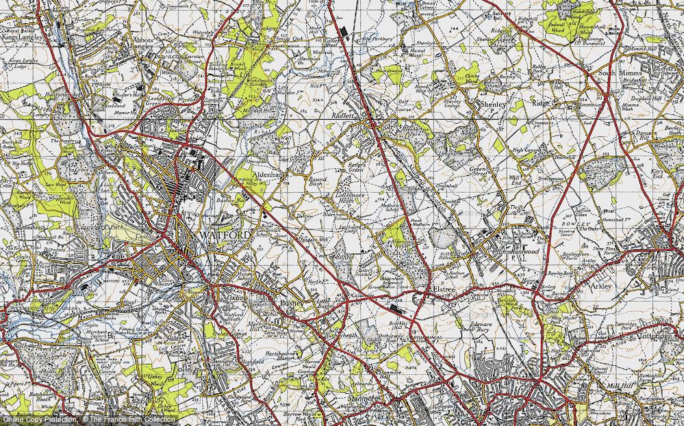 Letchmore Heath, 1946