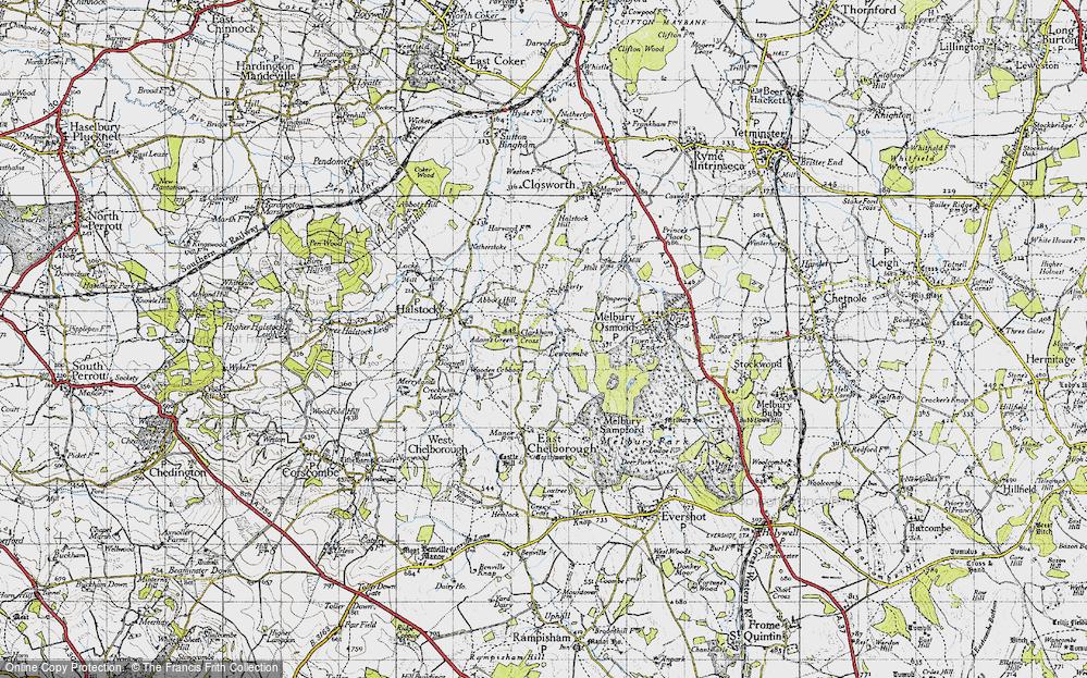 Lewcombe, 1945