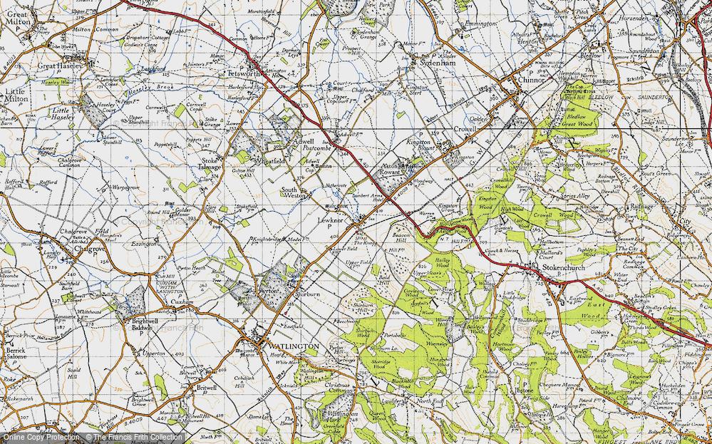 Lewknor, 1947