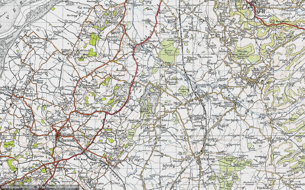 Old Map of Leyhill, 1946 in 1946