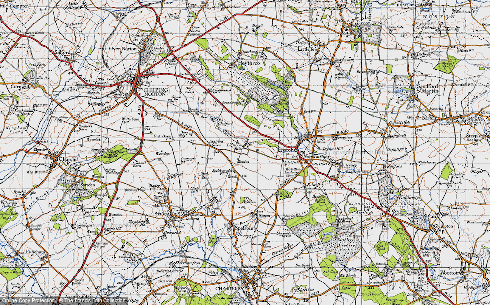 Old Map of Lidstone, 1946 in 1946