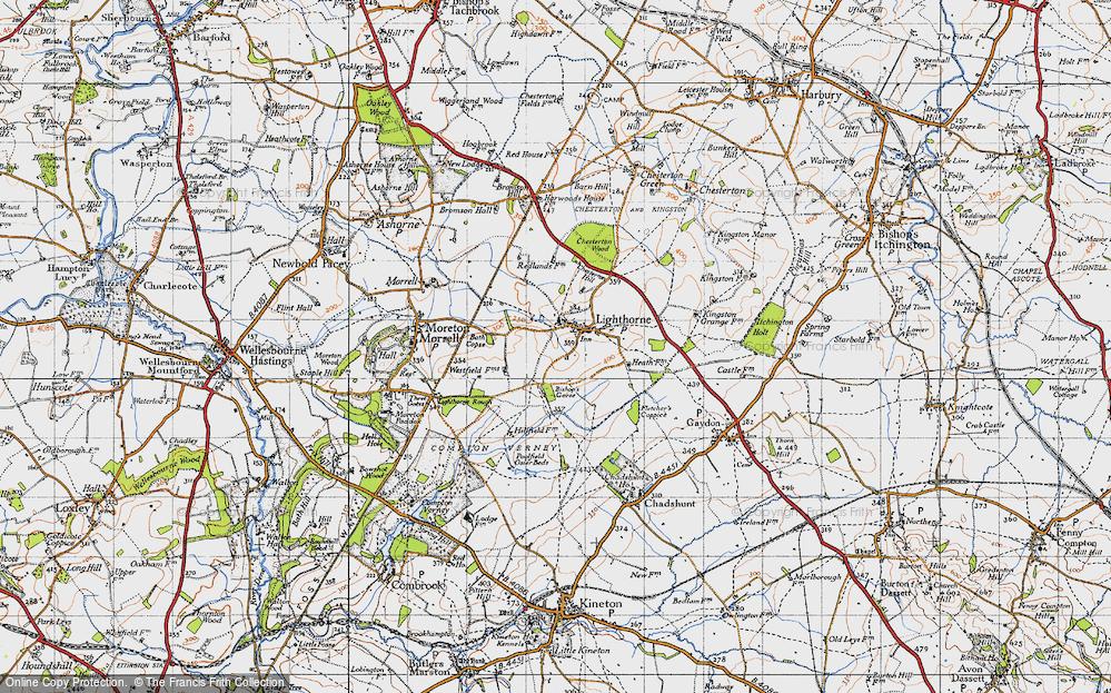 Old Map of Lighthorne, 1946 in 1946