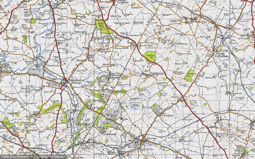 Old Map of Lighthorne Rough, 1946 in 1946