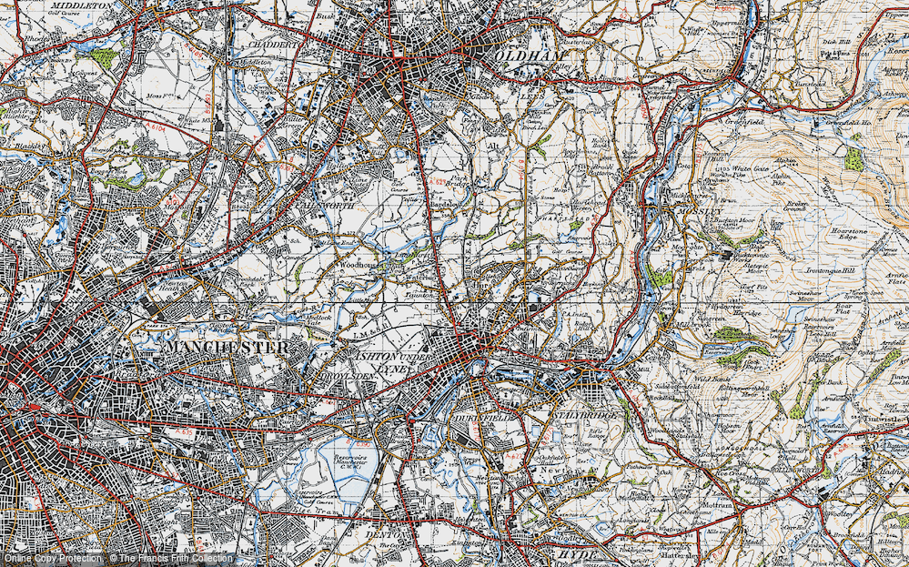 Old Map of Limehurst, 1947 in 1947
