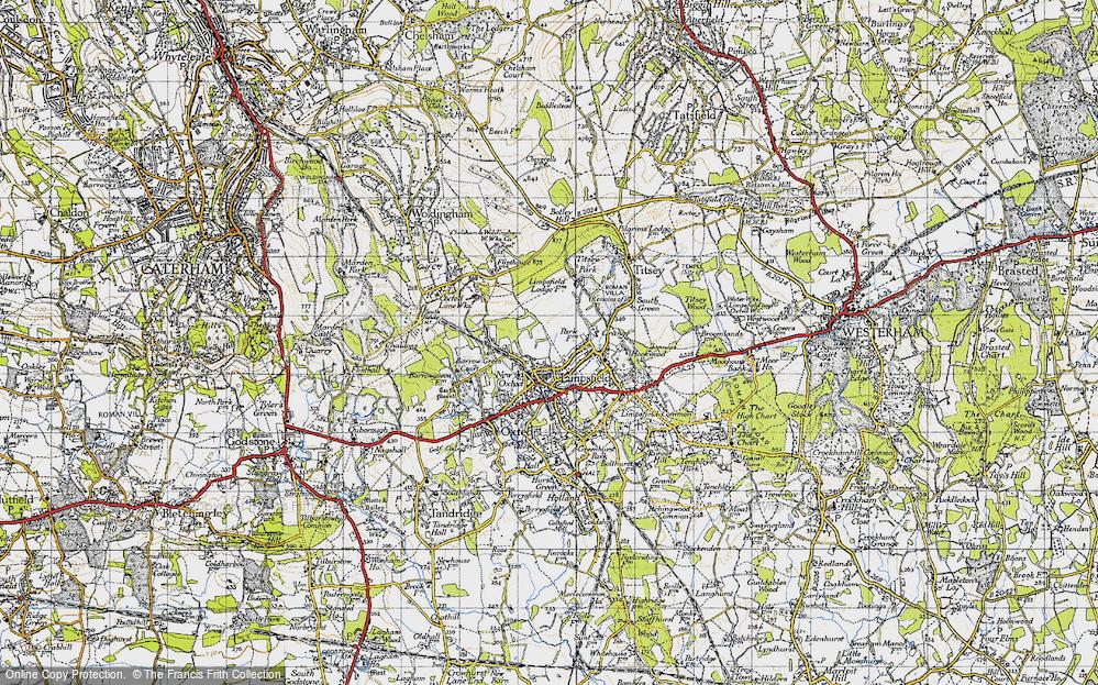 Limpsfield, 1946