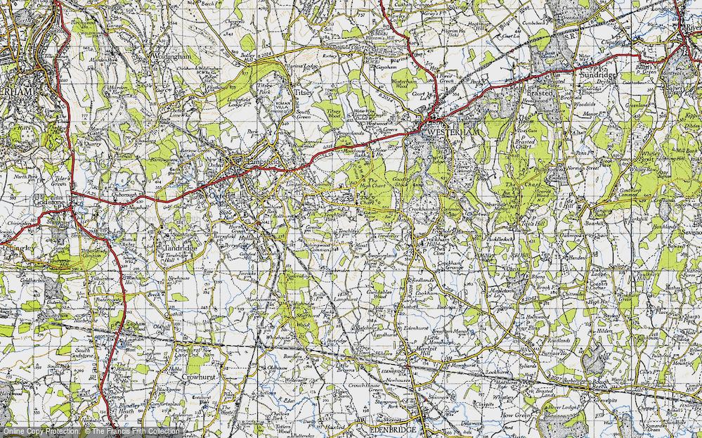 Limpsfield Chart, 1946