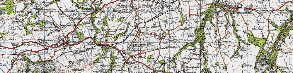 Old map of Lingdale in 1947