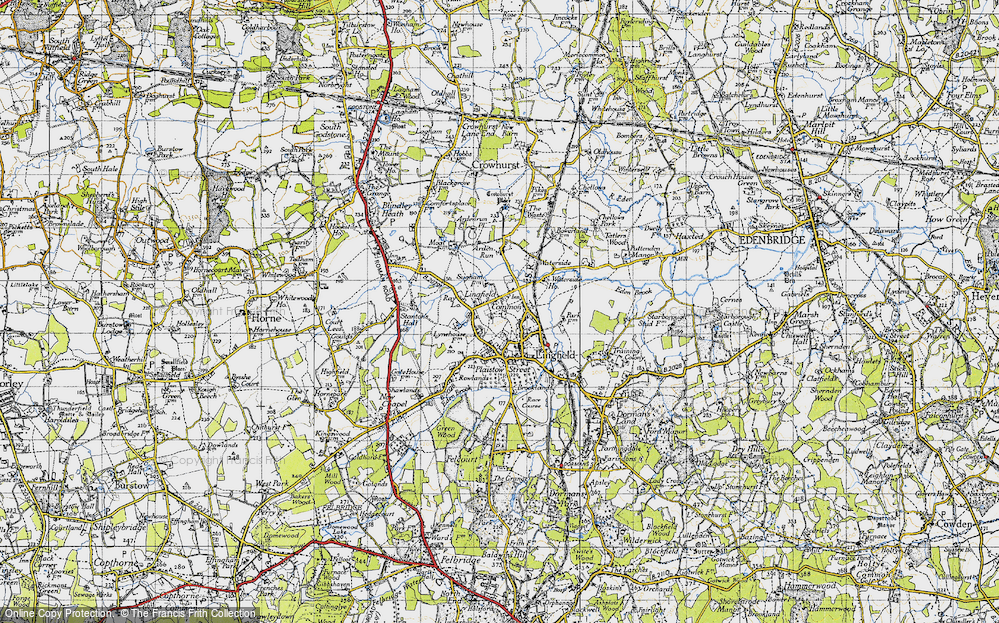 Old Map of Lingfield Common, 1946 in 1946