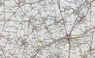 Map of Litlington, 1946