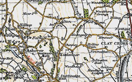 Old map of Littlemoor in 1947