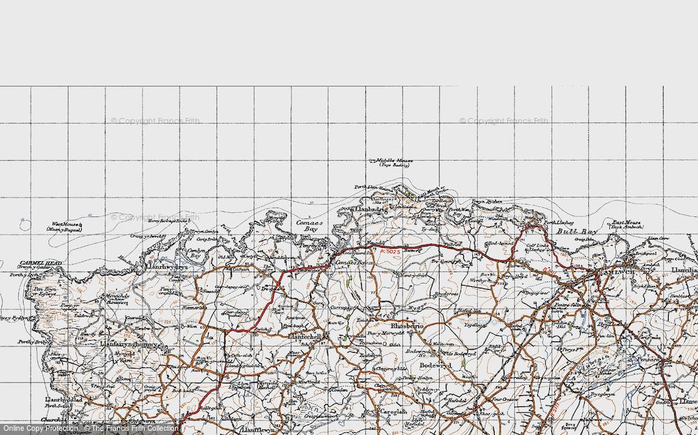 Old Map of Llanbadrig, 1947 in 1947