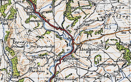 Old map of Bachell Brook in 1947