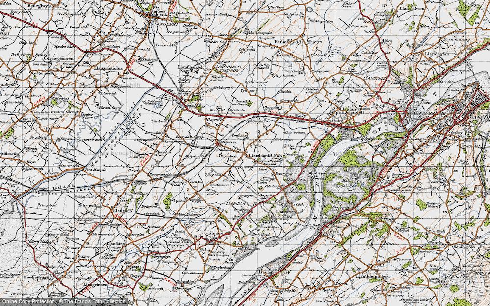 Llanddaniel Fab, 1947
