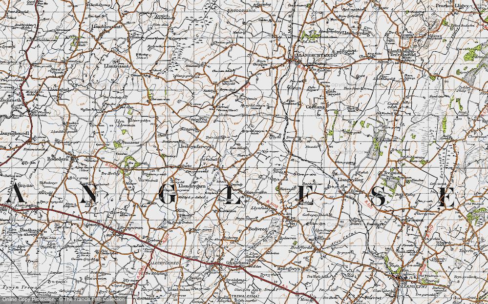 Llandrygan, 1947