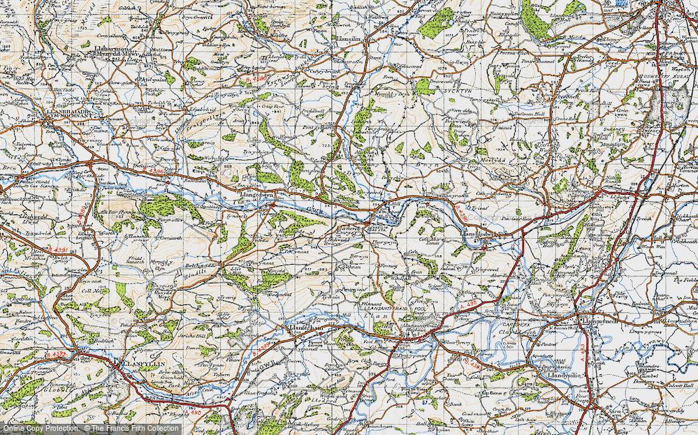 Llanerchemrys, 1947