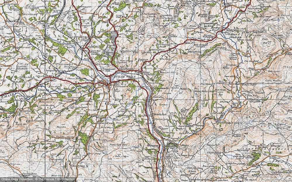 Llanfaredd, 1947