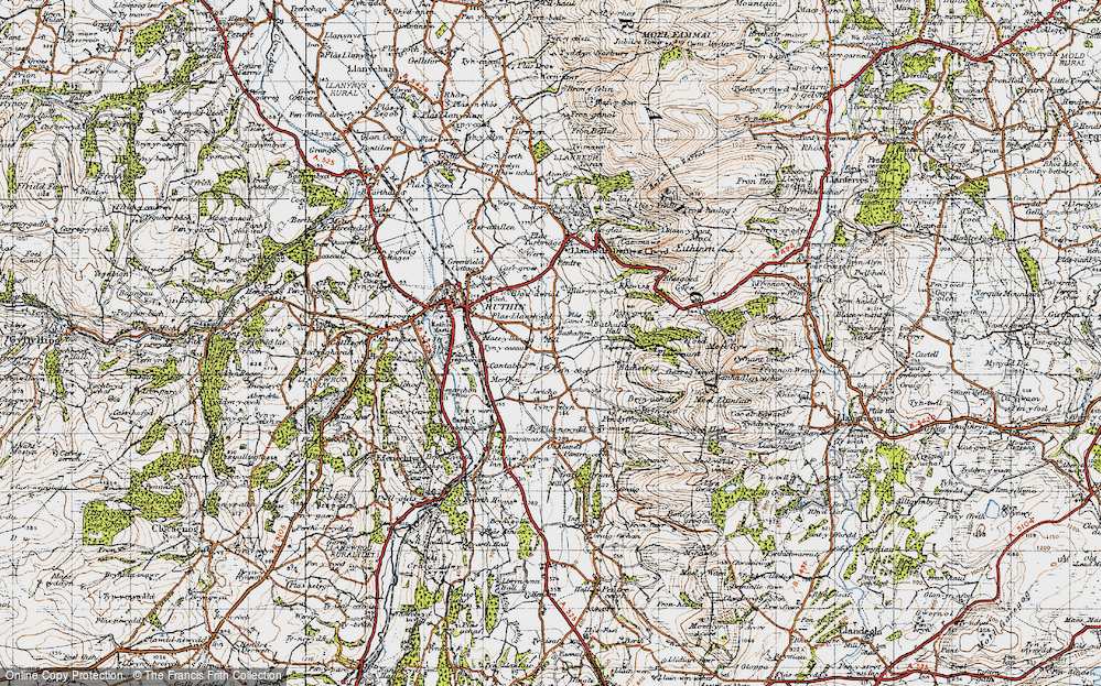 Llanrhydd, 1947